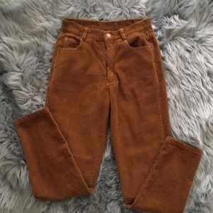 Pants - Corduroy Mom Pants
